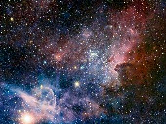 Туманность Киля. Фото ESO