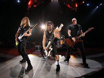 Metallica. Фото с сайта группы