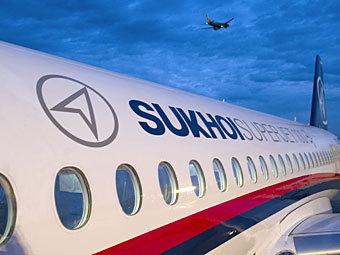 Sukhoi Superjet 100. Фото РИА Новости, Сергей Гунеев