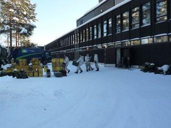Финская военная база в Кеуруу. Фото с сайта uta.fi