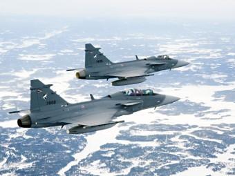 JAS 39 Gripen. Фото пресс-службы Saab
