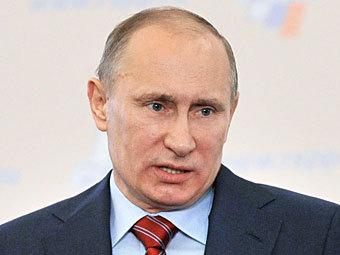 Владимир Путин. Фото РИА Новости, Владимир Песня