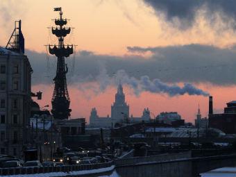 Зимняя Москва. Фото РИА Новости, Андрей Рудаков