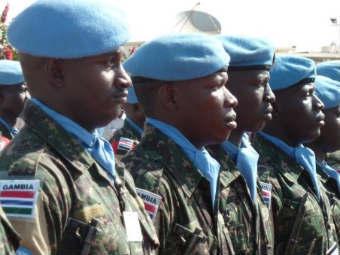 Миротворцы ООН. Фото ©AFP