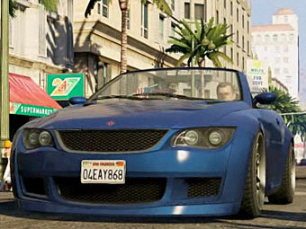 Кадр из трейлера GTA V