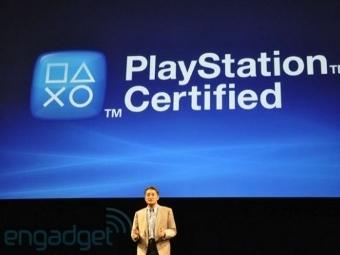Презентация программы PS Certified, изображение из блога Engadget