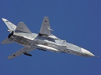 Су-24 разбился во время дозаправки