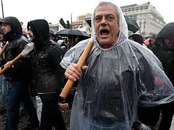 Забастовка в Греции. Фото Reuters