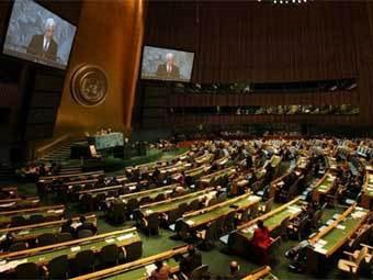 Заседание Генассамблеи ООН. Фото с сайта un.org