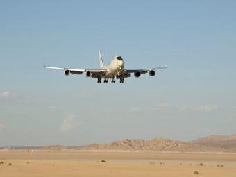 Самолет с ABL. Фото с сайта boeing.com