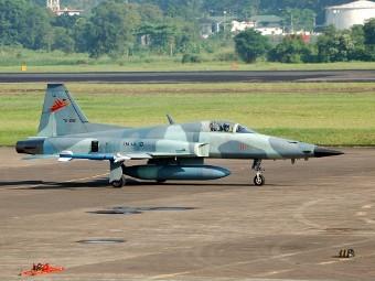 F-5E ВВС Индонезии. Фото с сайта indomiliter.wordpress.com