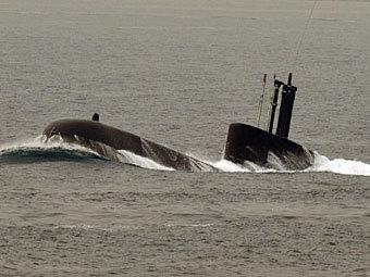 Подводная лодка южнокорейских ВМС. Фото ©AFP