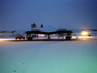 B-2 Spirit. Фото с сайта northropgrumman.com