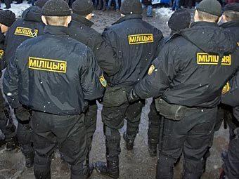 Минская милиция. Фото РИА Новости, Иван Руднев