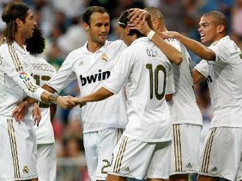 """Футболисты мадридского """"Реала"""". Фото с официального сайта клуба"""