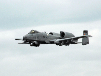A-10 Thunderbolt II. Фото с сайта af.mil