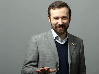 Илья Пономарев. Фото из блога депутата