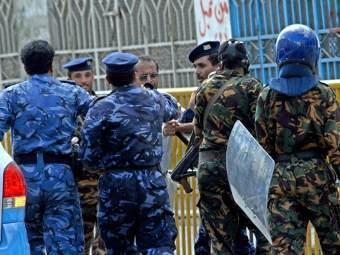 Полиция в Адене. Фото ©AFP