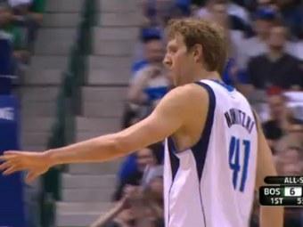 Дирк Новицки. Кадр ролика с сайта НБА