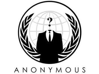 Логотип хакерской группы Anonymous
