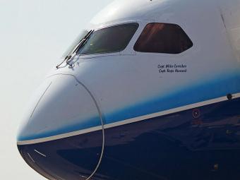 "B787 Dreamliner. Фото Александра Качкаева для ""Ленты.ру"""