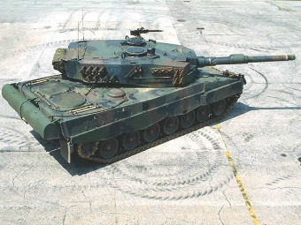 Leopard 2A4.(Фото от сайта defenseindustrydaily.com)