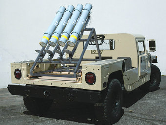 Прототип пусковой установки Griffin B. Фото с сайта defenseindustrydaily.com