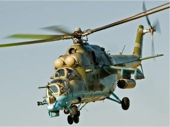Ми-24П на ВВС Украйна (Фото от сайта pcavia.ru)