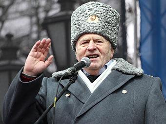 На Пушкинской площади прошел митинг Жириновского