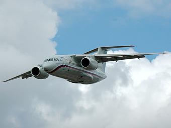 "Ан-148 авиакомпании ""Россия"". Фото с сайта uwww.aero"