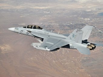 EA-18G Growler (Фото от сайта navy.mil)