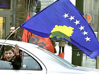 Флаг Косово. Фото ©AFP