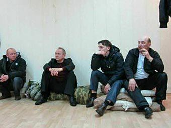 Участники голодовки в Лермонтове. Фото с сайта lerm26.ru