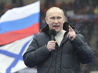 Владимир Путин. Фото РИА Новости, Алексей Куденко