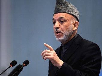 Хамид Карзай. Фото ©AFP