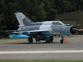 МиГ-21 ВВС Румынии. Фото с сайта flightglobal.com