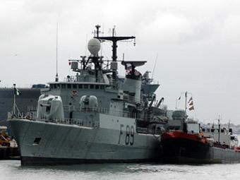 Корабль ВМС Нигерии. Фото с сайта mt-milcom.blogspot.com