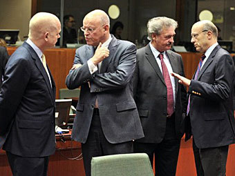 Встреча министров иностранных дел стран-участниц Евросоюза. Фото ©AFP