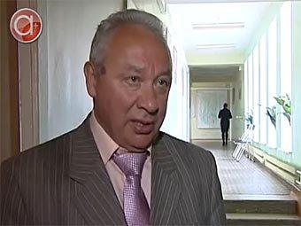"""Виталий Сетов. Кадр телеканала """"Альфа Плюс"""""""