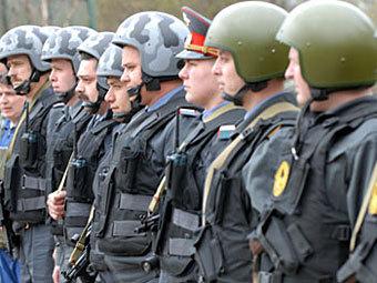 Сотрудники центра охраны объектов высших органов власти. Фото с сайта mvd.ru