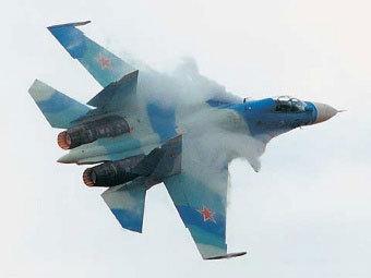 """Су-30. Фото пресс-службы компании """"Сухой"""""""