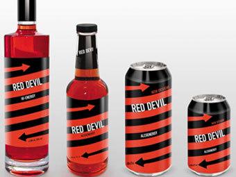 Red Devil) - энергетический напиток с относительно низким содержанием...