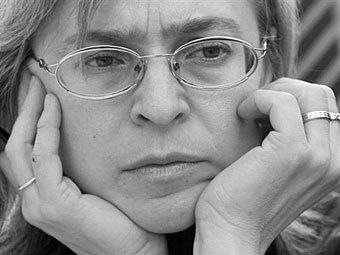 Анна Политковская. Архивное фото ©AFP