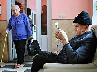 Латвийские пенсионеры. Фото DELFI
