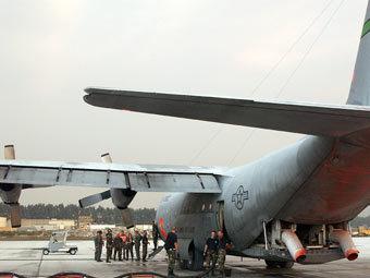 Авиабаза США в Манасе. Фото с сайта af.mil