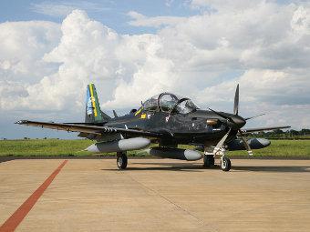 AT-29 Super Tucano. Фото с сайта embraer.com