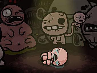 Скриншот Binding of Isaac