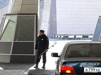 Пропускной пункт на границе России и Грузии. Фото РИА Новости, Владимир Иванов
