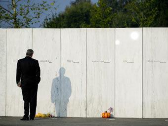 Памятник жертвам теракта в Пенсильвании. Фото ©AP