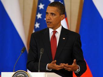 """Барак Обама. Фото Мити Алешковского для """"Ленты.ру"""""""